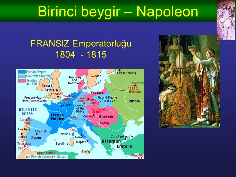 Birinci beygir – Süleyman OSMANLI Emperatorluğu 1520 - 1566