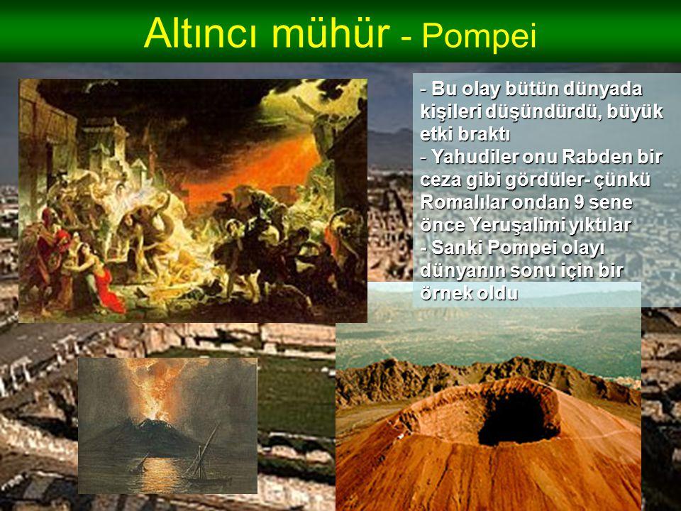Altıncı mühür - Pompei