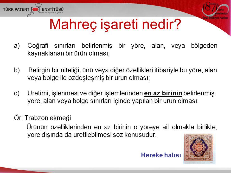 COĞRAFİ İŞARETİN İŞLEVLERİ I.