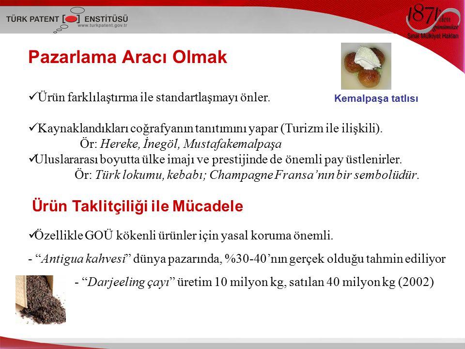 Sonuç olarak; Türkiye azımsanmayacak ölçüde Coğrafi İşaret potansiyeline sahip.