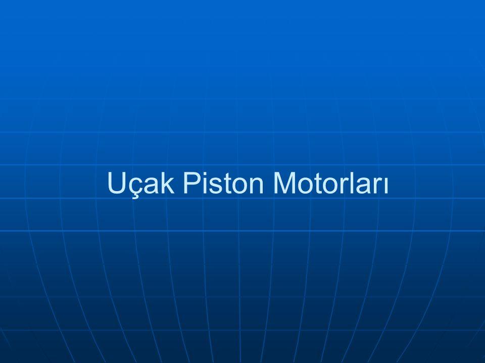 Uçak Piston Motorları