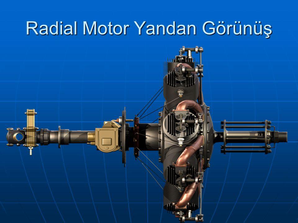 Radial Motor Yandan Görünüş