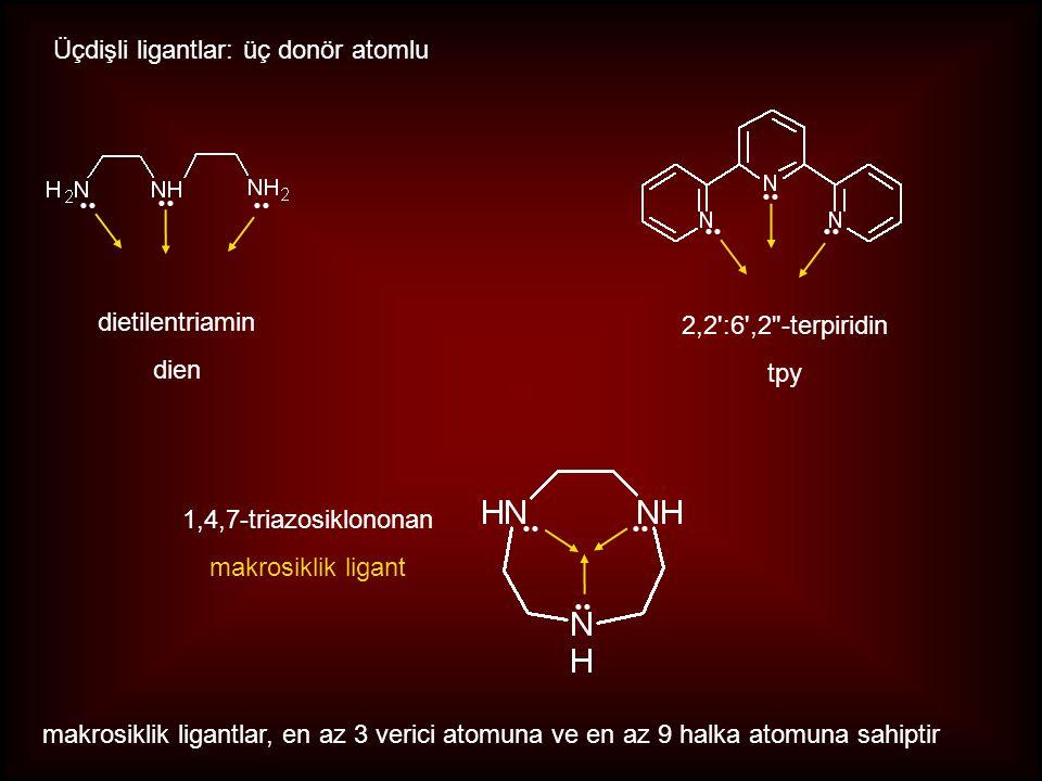 Üçdişli ligantlar: üç donör atomlu 2,2':6',2