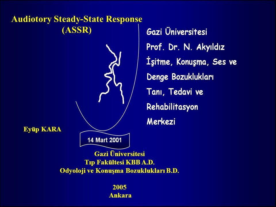 Eyüp KARA Gazi Üniversitesi Tıp Fakültesi KBB A.D.