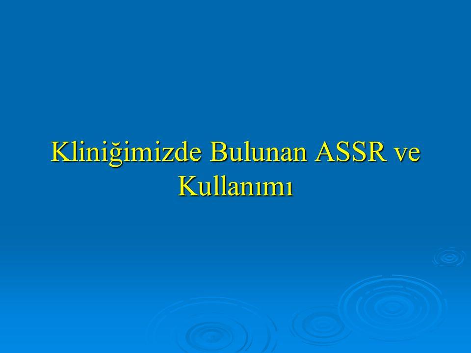 Çalışma 3 ( ASSR with sensorineural hearing loss adult Herdman, T., Stapells, D, İnt.