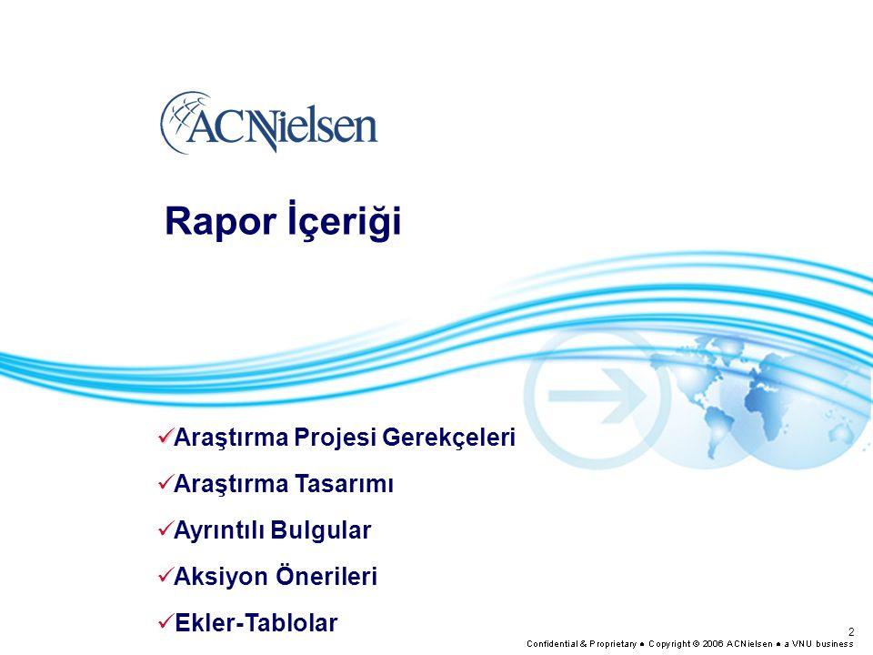 2 Rapor İçeriği Araştırma Projesi Gerekçeleri Araştırma Tasarımı Ayrıntılı Bulgular Aksiyon Önerileri Ekler-Tablolar