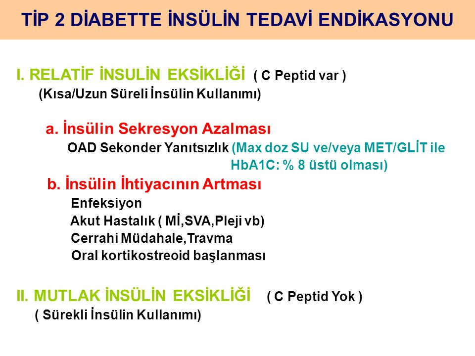Karışım İnsülinler Humulin M (60/40,70/30,80/20 vs) Mixtard HM (10,20,30, 40, 50 ) Orgasülin MİX (30, 40 vs) Humalog mix 25 (Lyspro-N protamin L) Novomix 30 (Aspart-Protamin aspart)