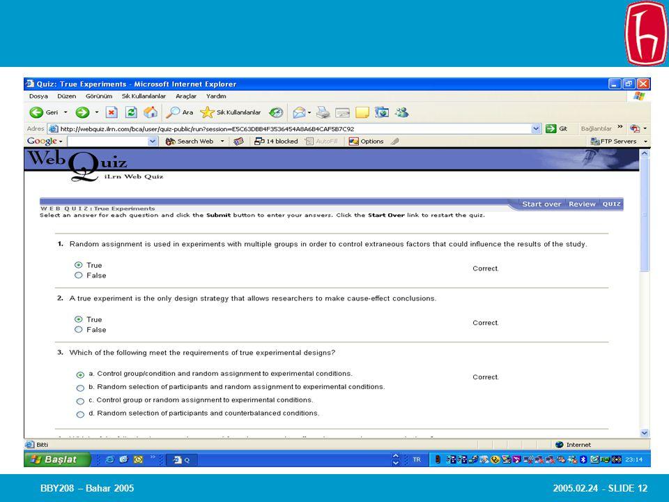 2005.02.24 - SLIDE 12BBY208 – Bahar 2005