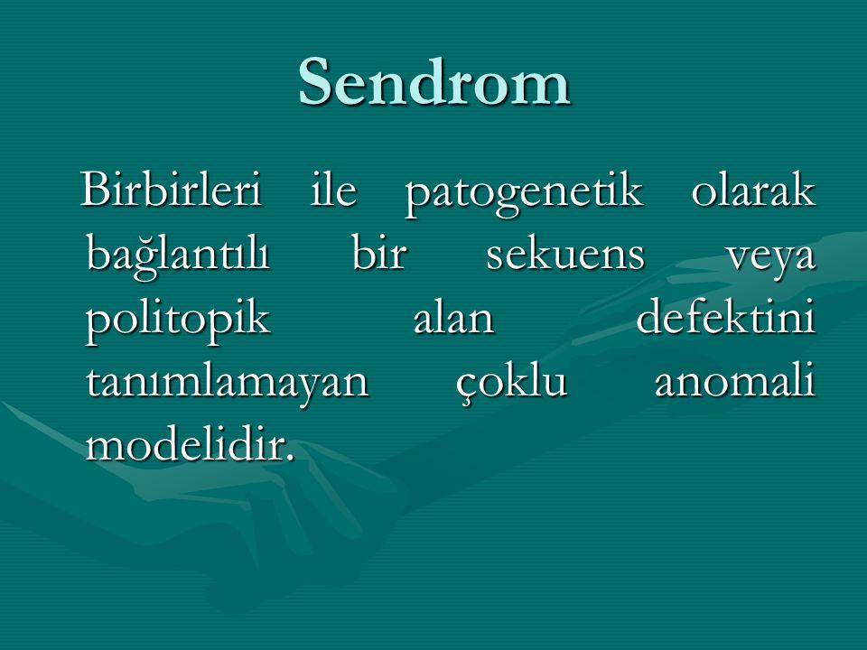 Sayısal Kromozom Anomalileri Kromozomların sayısal sapmaları genellikle ayrılamama sonucudur.