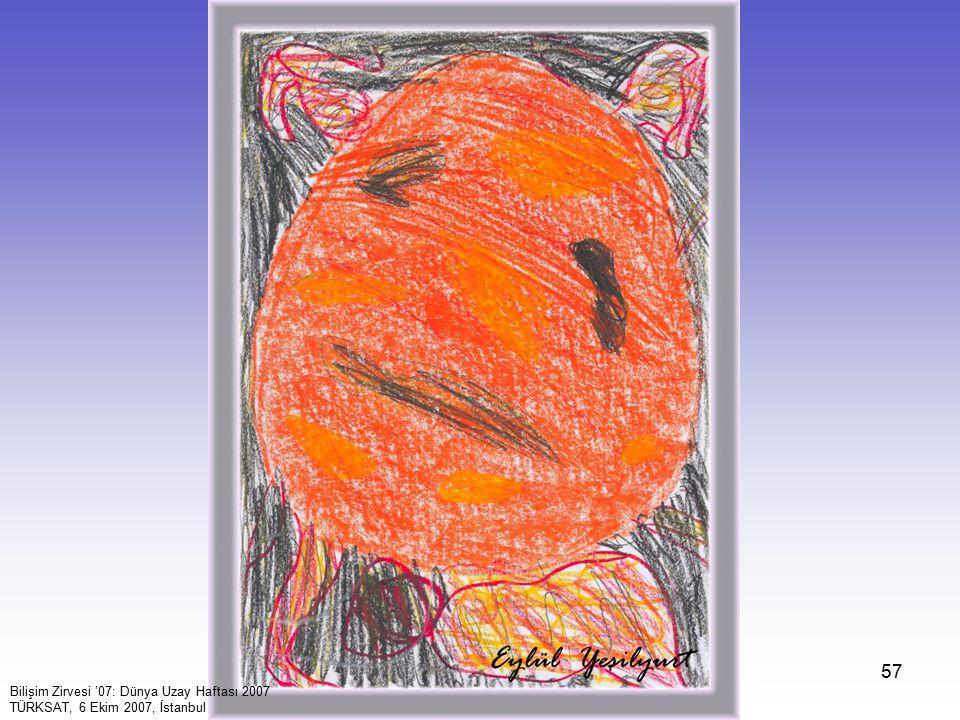 57 Bilişim Zirvesi '07: Dünya Uzay Haftası 2007 TÜRKSAT, 6 Ekim 2007, İstanbul
