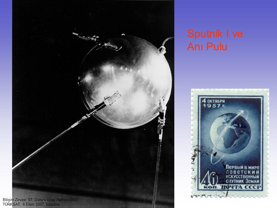 9 Bilişim Zirvesi '07: Dünya Uzay Haftası 2007 TÜRKSAT, 6 Ekim 2007, İstanbul Sputnik I ve Anı Pulu
