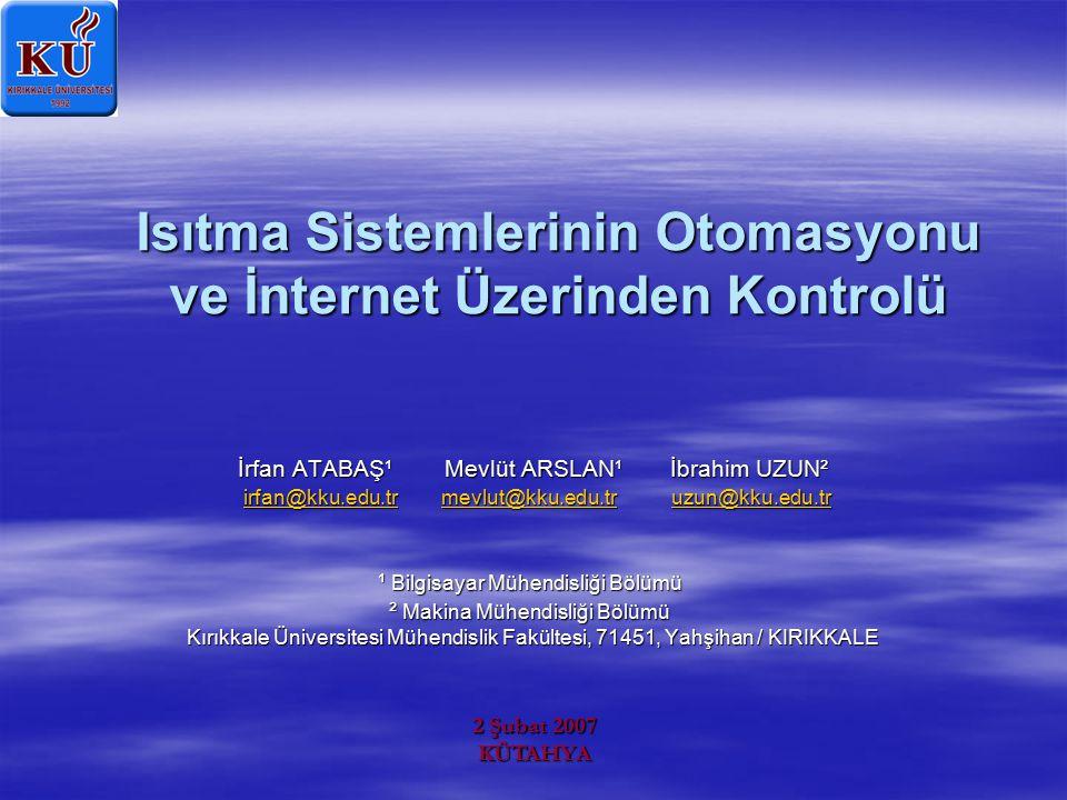 Kullanıcı Web Arayüzü