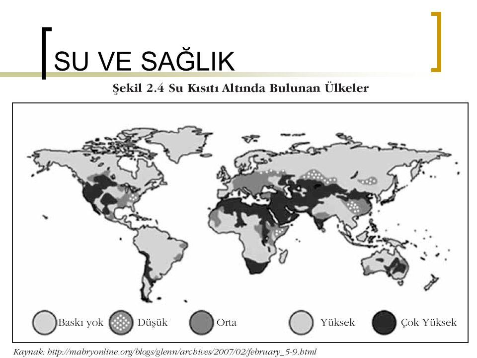 Su numuneleri (15.7.2005- 22.11.2005) 8693 bakteriyolojik su numunesi alınmıştır.