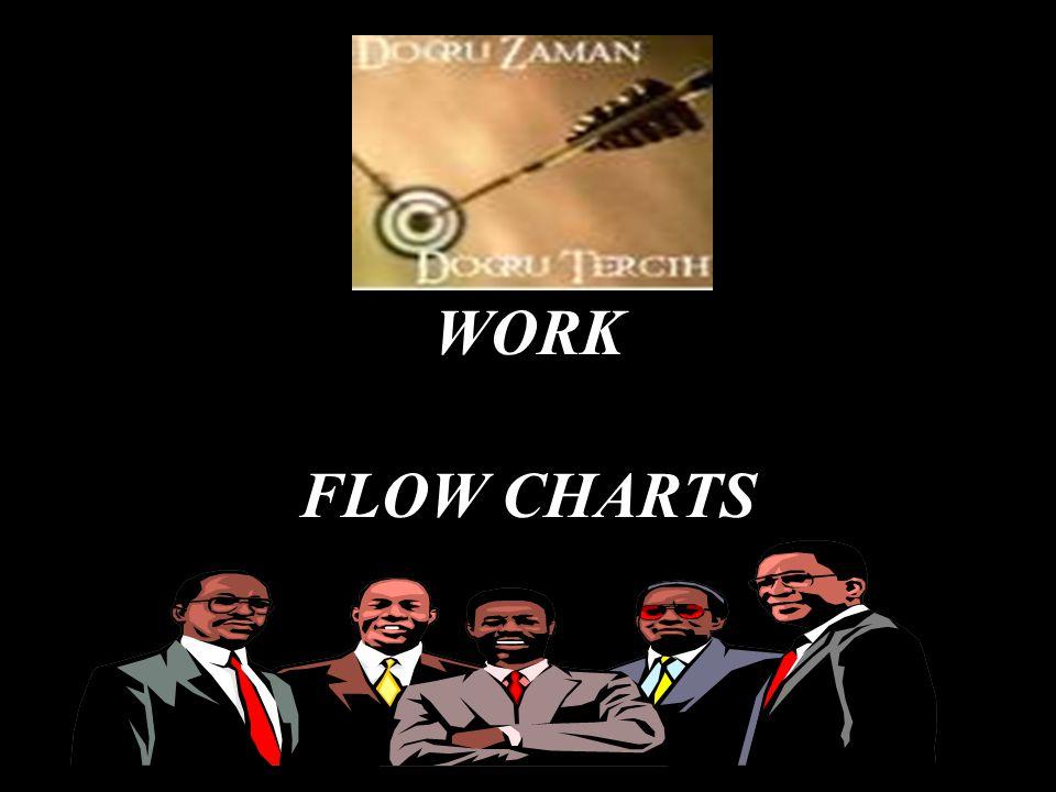 WORK FLOW CHARTS
