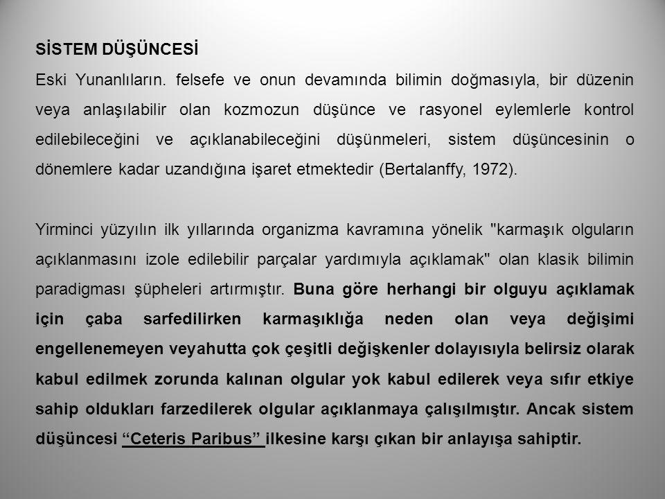 Namilov ve Bilime Organizmik Bakış Vasilii Namilov Faces of Science (1981) isimli eserinde bilim olgusuna sibernetik bir yaklaşım öne sürmüştür.