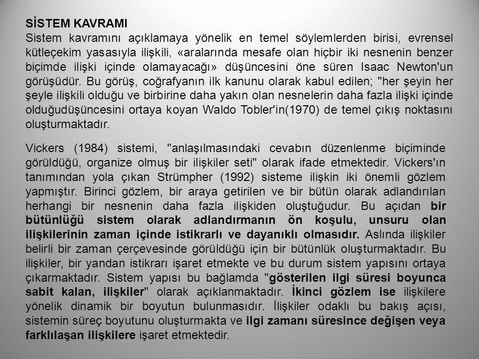 BÜTÜNCÜ(SİSTEM)YAKLAŞIMLAR 1928 1950 1960 GENEL SİSTEM TEORİSİ SİSTEM DİZAYNI SİSTEM MÜHJENDİSLİĞİ HAREKET ARAŞTIRMASI MATEMATİK PROGRAMLAMA SİSTEM ANALİZİ OUTPUT ANALİZİ SİBERNETİK ENFORMASYON TEORİSİ BİLGİSAYAR BİLİM DALI SİSTEM DÜŞÜNCESİ İLE İLGİLİ YAKLAŞIMLARIN BİRBİRLERİ İLE İLİŞKİSİ