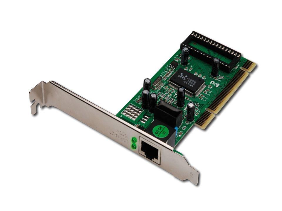 Ethernet kartı ile işlemci nasıl haberleşir.