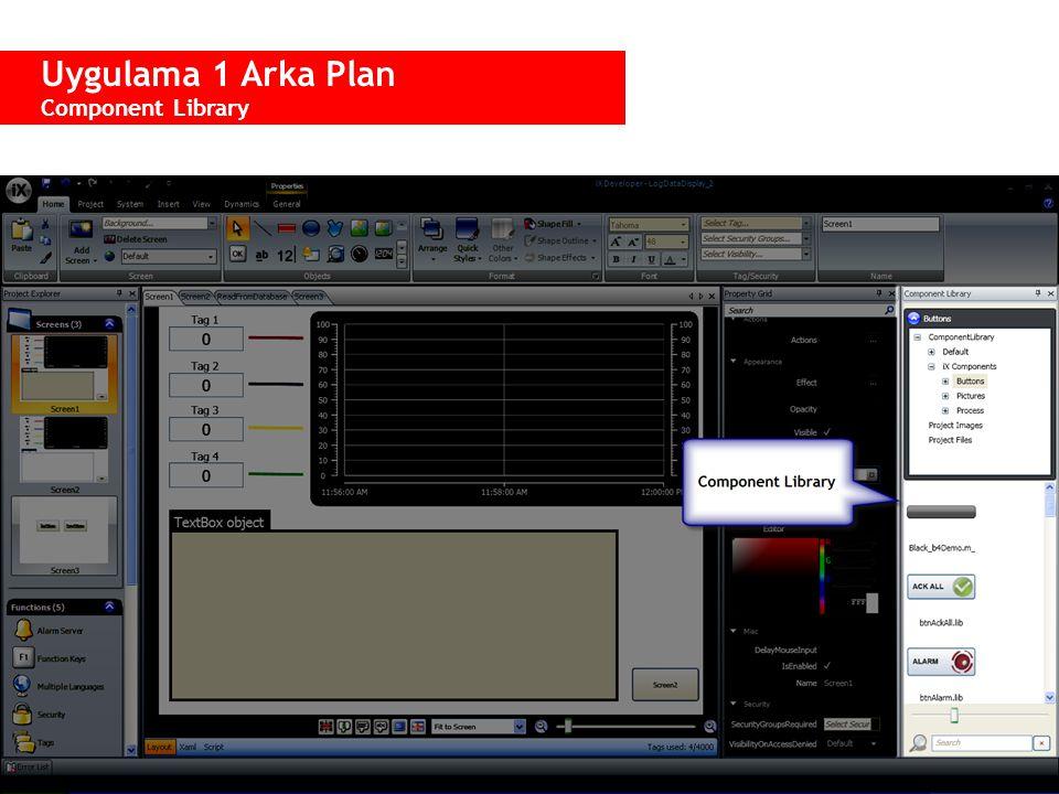  Bir projenin başka yerindeki veya başka projelerdeki obje unsurlarını kaydetmek ve yeniden kullanmak için kullanılır.