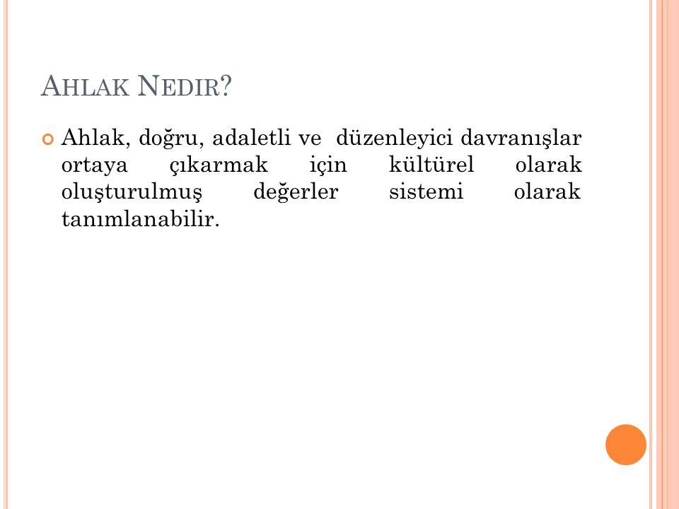 A HLAK N EDIR .