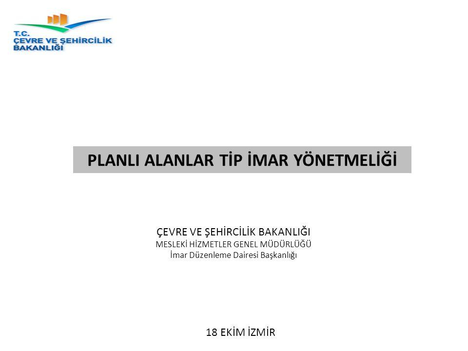 Madde 19 – Parselasyon Planı-Tevhit-İfraz  Aralarında yol cephesinde (3,00) m.