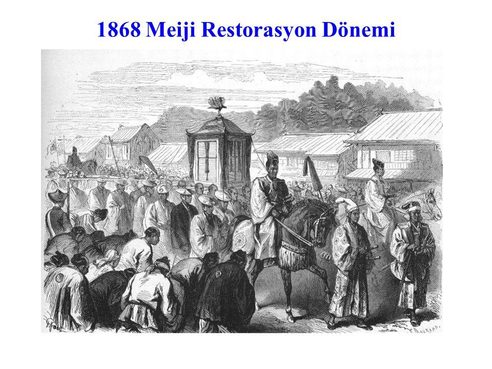 1868 Meiji Restorasyon Dönemi