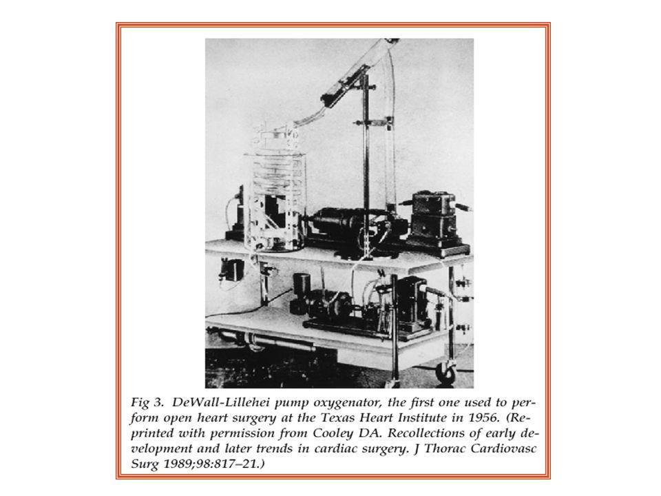 1937 Gibbon çalı ş an ilk kalp akci ğ er makinasını kurdu.