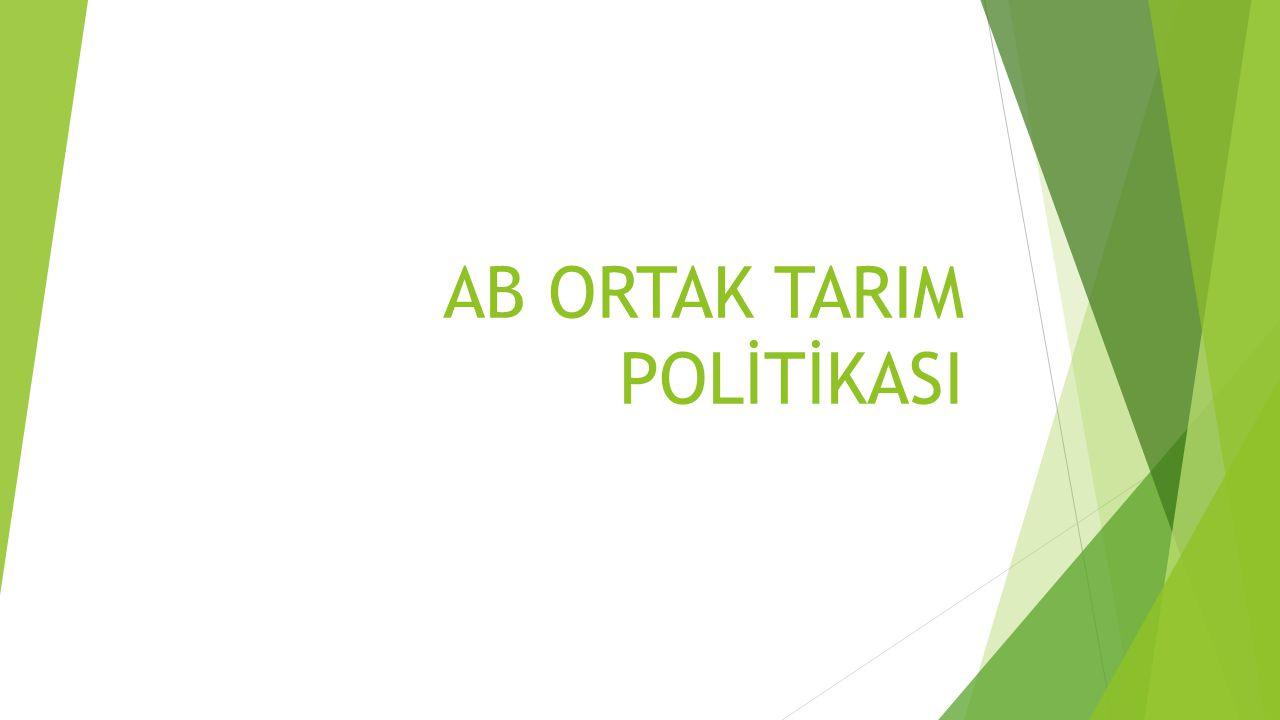 ORTAK TARIM POLİTİKASINDA REFORMLAR  1988 Reformu:  Hem Topluluk içinden hem de GATT görüşmelerinde üçüncü ülkelerden OTP'yi hedef alan yoğun eleştiriler sonucunda, OTP'de reform dalgası 1988 yılında başlamıştır.