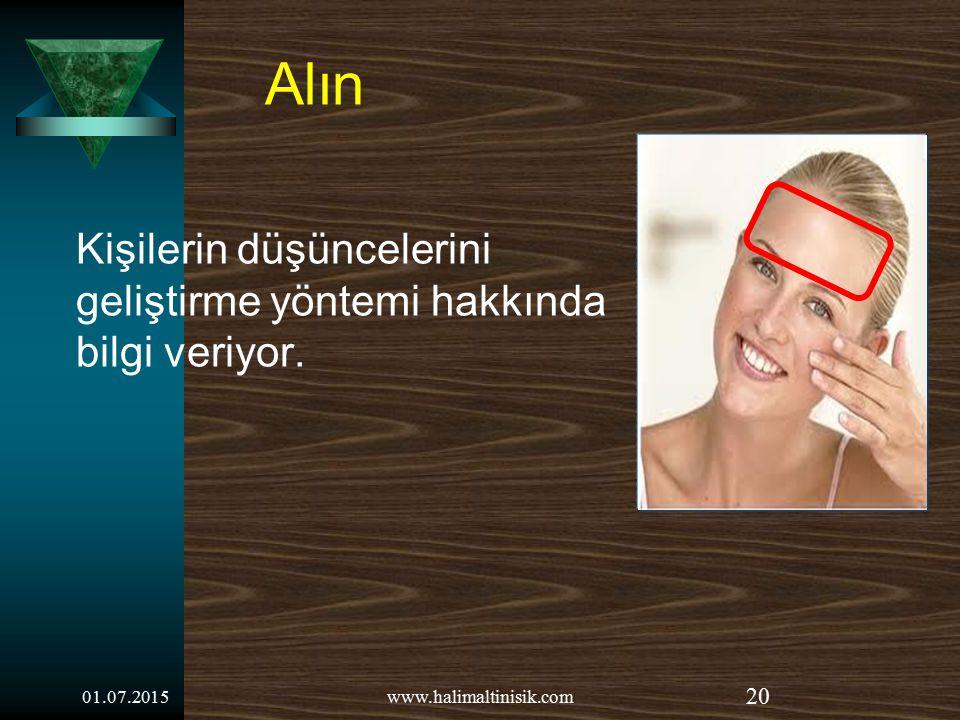01.07.2015www.halimaltinisik.com 19 Herkes aya benzer, kimseye göstermediği karanlık bir yüzü vardır. Mark Twain