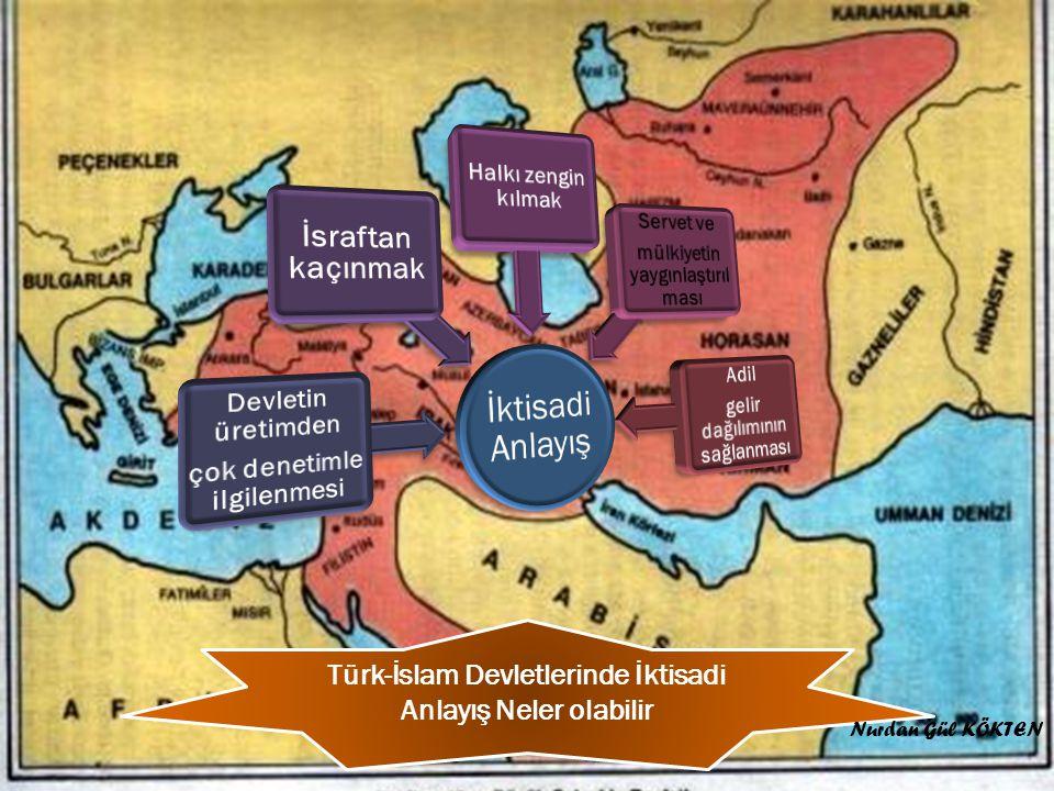 Türk-İslam Devletlerinde İktisadi Anlayış Neler olabilir Nurdan Gül KÖKTEN
