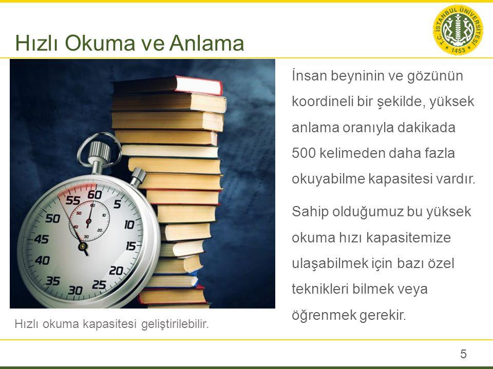 Anlayarak hızlı ve etkili okuma sistemi 4 aşamadan oluşur: 1.Fotoğrafik Okuma 2.Ön Okuma 3.Hızlı Okuma 4.Derin Okuma Okuyucu her aşamayı öncelikle öğrenir.