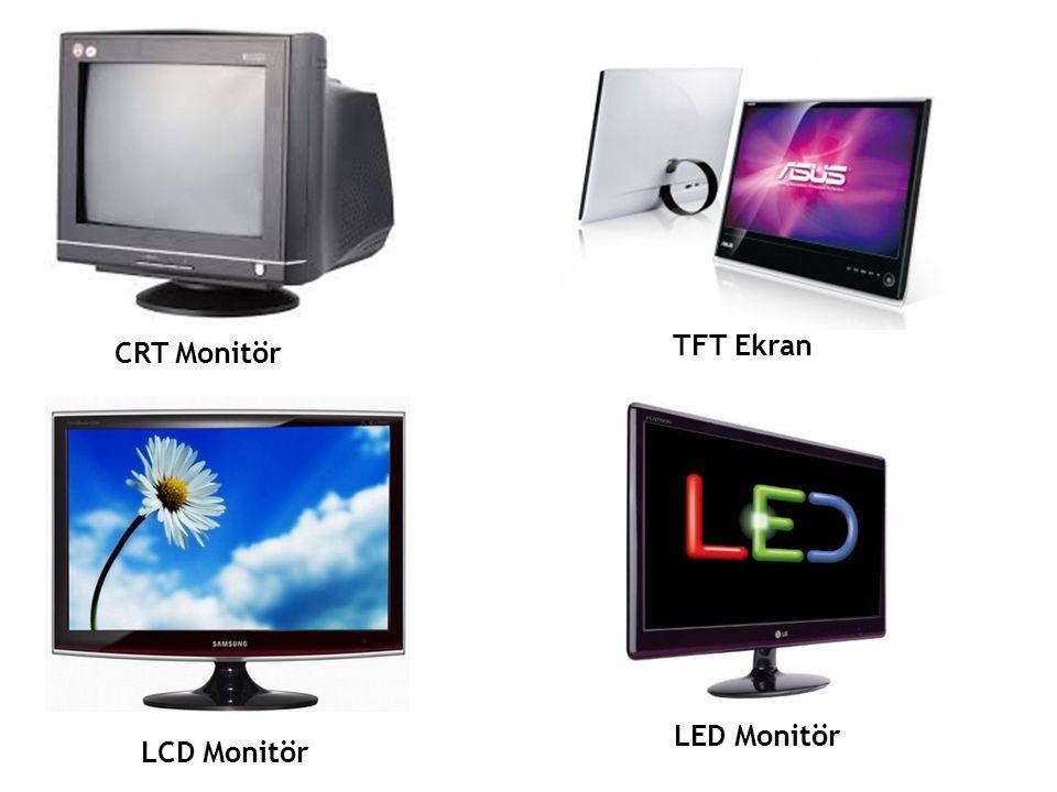 CRT Monitör TFT Ekran LCD Monitör LED Monitör