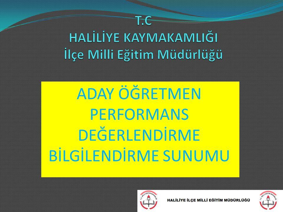 PERFORMANS DEĞERLENDİRME SÜRECİ NASILDIR.