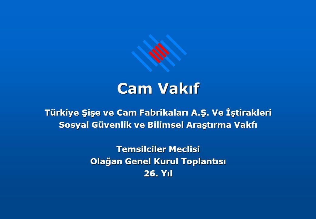 Cam Vakıf Türkiye Şişe ve Cam Fabrikaları A.Ş.