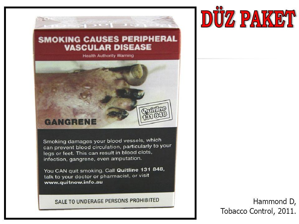 Hammond D, Tobacco Control, 2011.