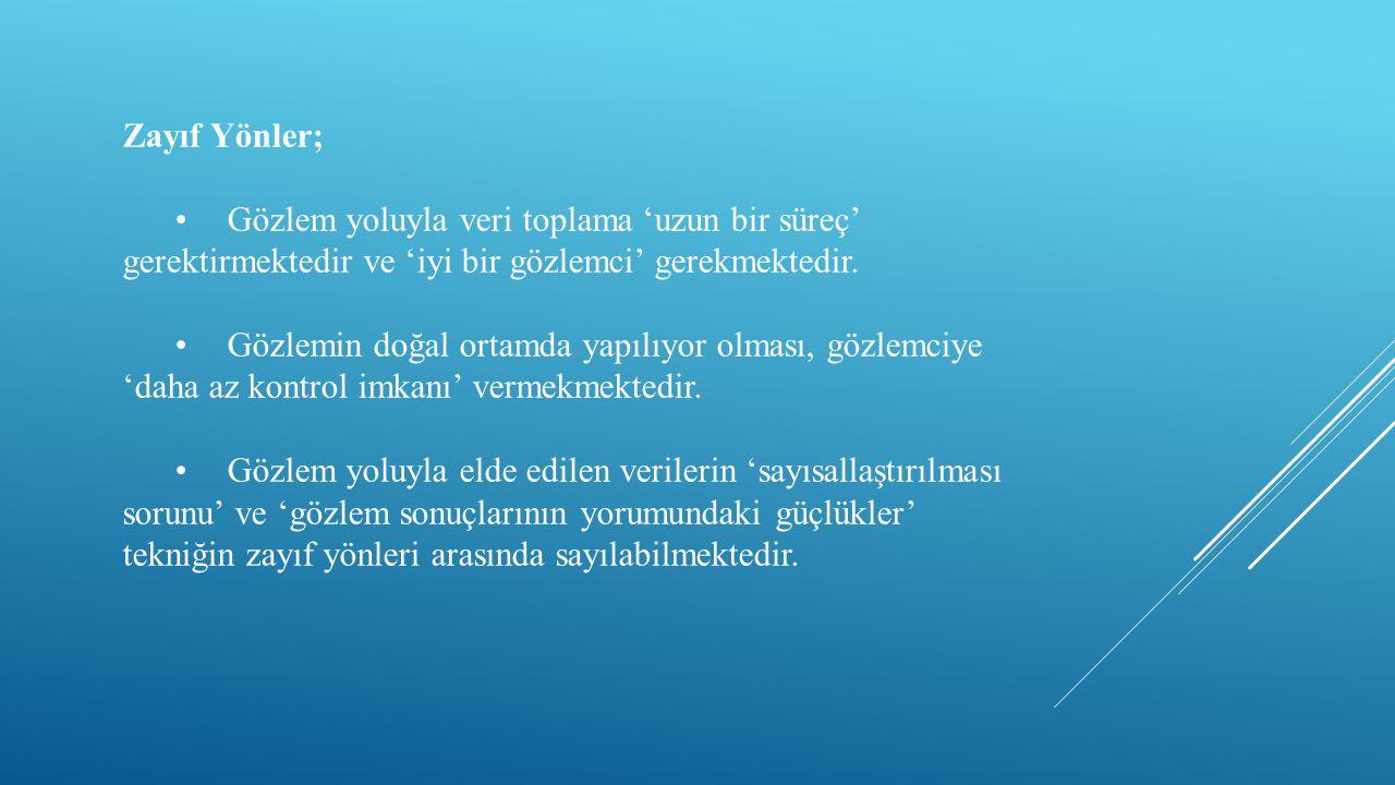 IV.BÖLÜM Kaynakça Avinç, İ., Özkan, E., ve Çam, F.