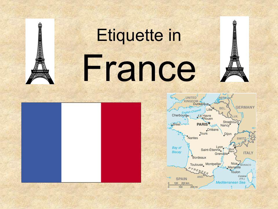 Etiquette in France