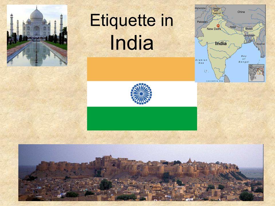 Etiquette in India
