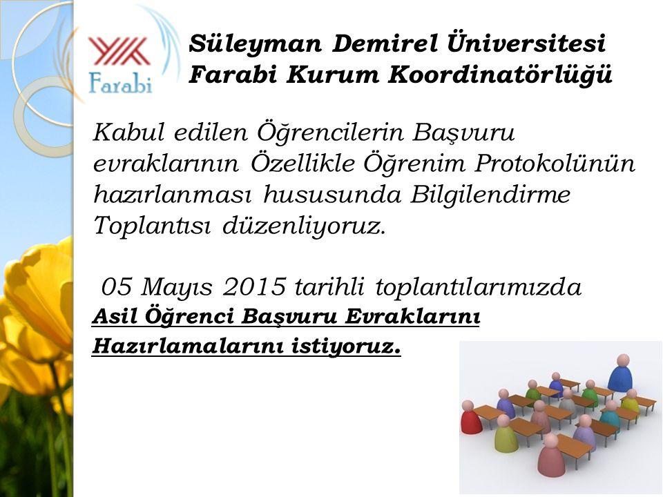 BURS ÖDEMESİ İÇİN III.