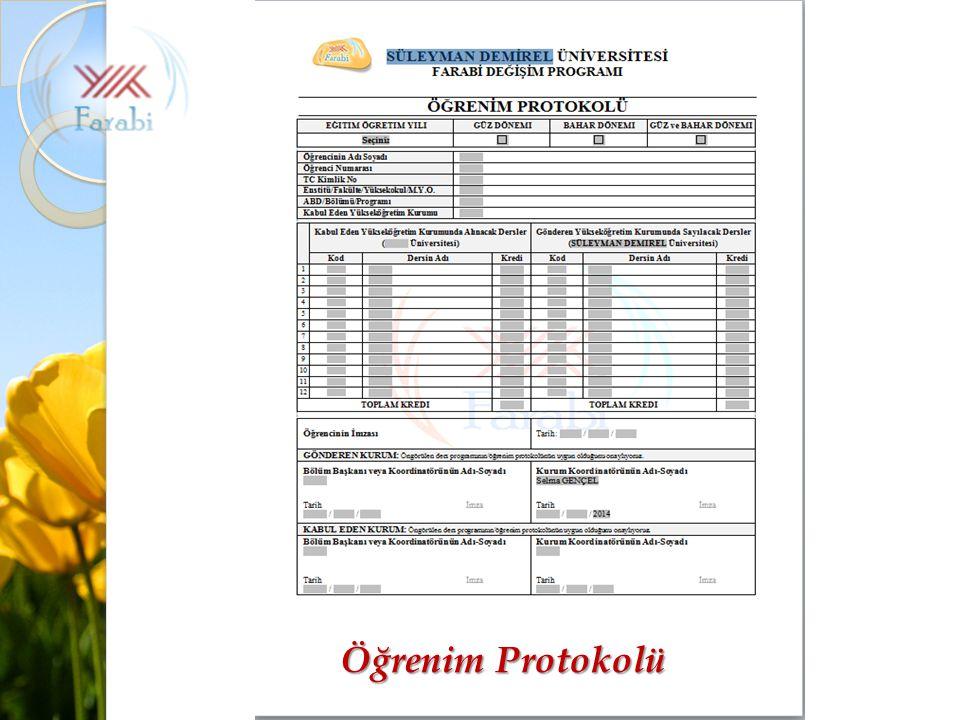 Süleyman Demirel Üniversitesi Farabi Kurum KoordinatörlüğüKatılımızın için Teşekkür ederim.