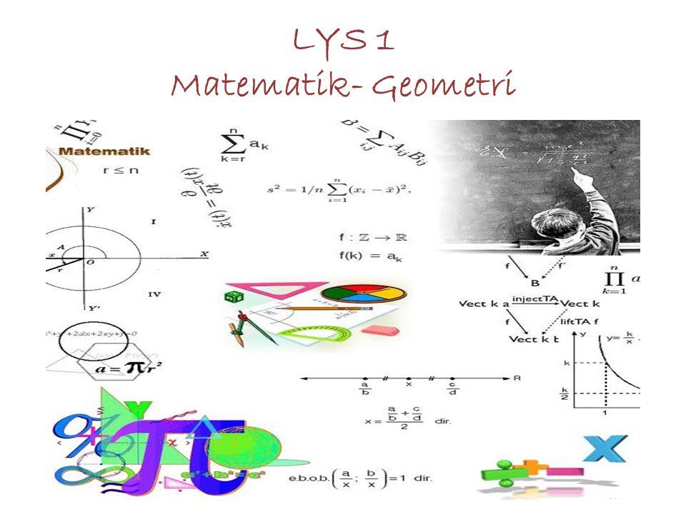 LYS 1 Matematik- Geometri