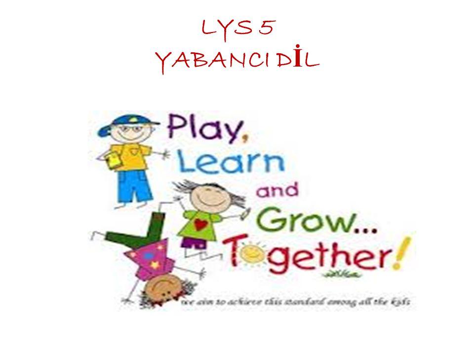 LYS 5 YABANCI D İ L