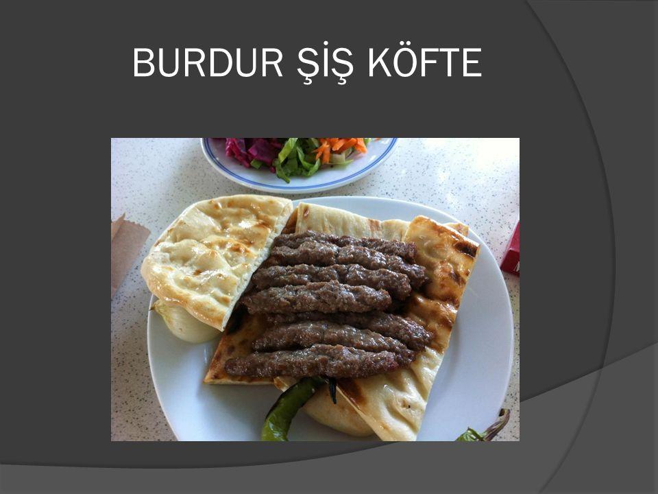 BURDUR ŞİŞ KÖFTE