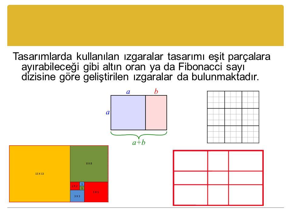 Sonraki slaytta sunulan örneklerden birinde görsel denge sağlanmazken diğerinde ögelerin sayısı ve büyüklükleri kullanılarak sağlanmamıştır.