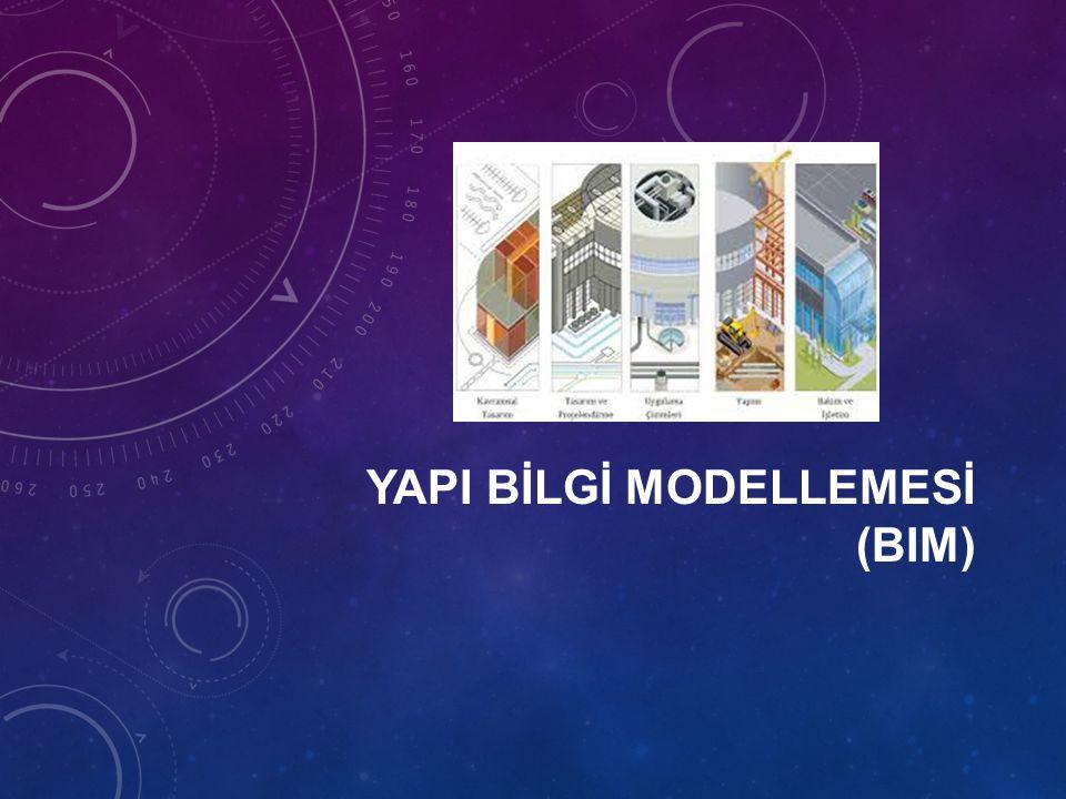 53 YAPI BİLGİ MODELLEMESİNİN KULLANIM ALANLARI III.