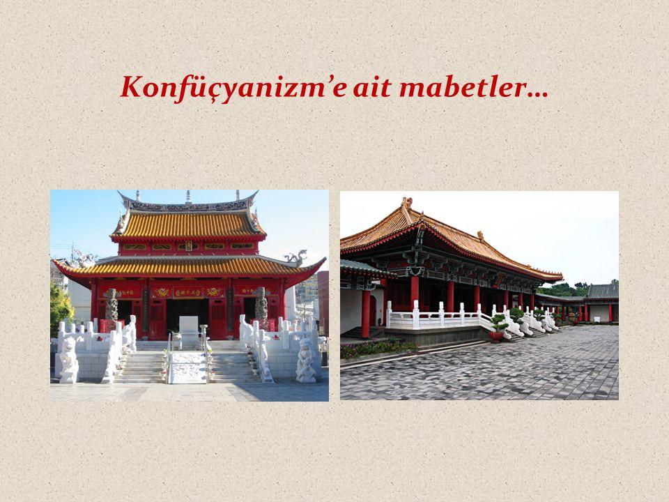 Konfüçyanizm'e ait mabetler…