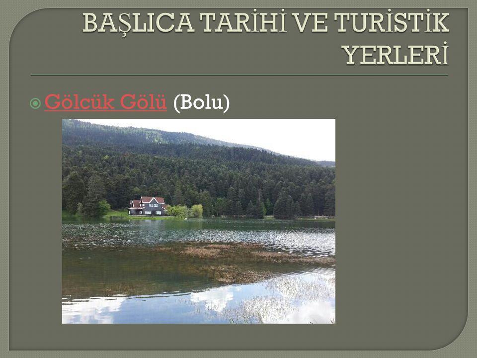  Abant Gölü (Bolu) Abant Gölü