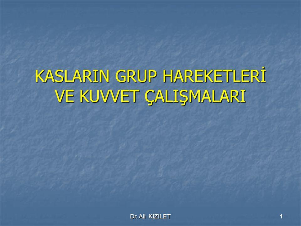 Dr. Ali KIZILET22