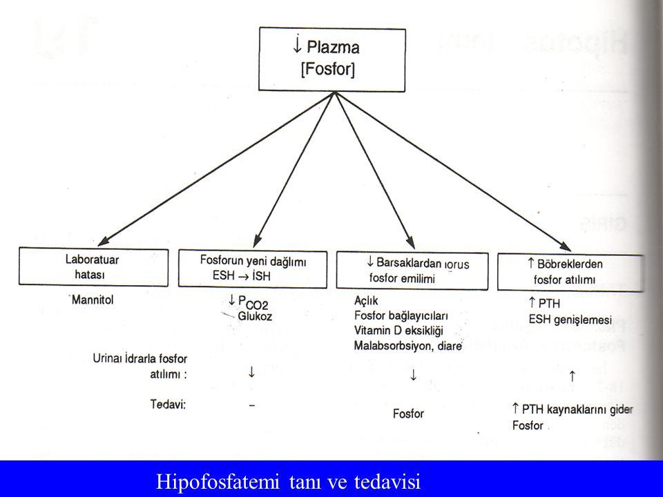 Hipofosfatemi tanı ve tedavisi