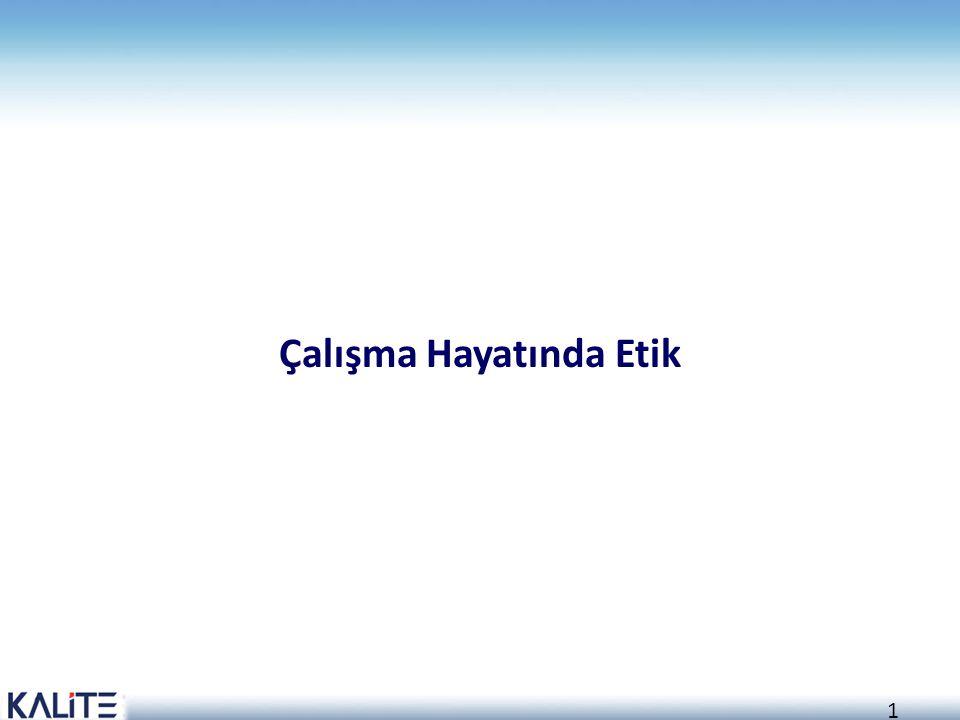 2 Amaç İş sağlığı ve güvenliği uygulamalarında etik kavramı ve uluslararası etik kuralları hakkında bilgi sahibi olmak.