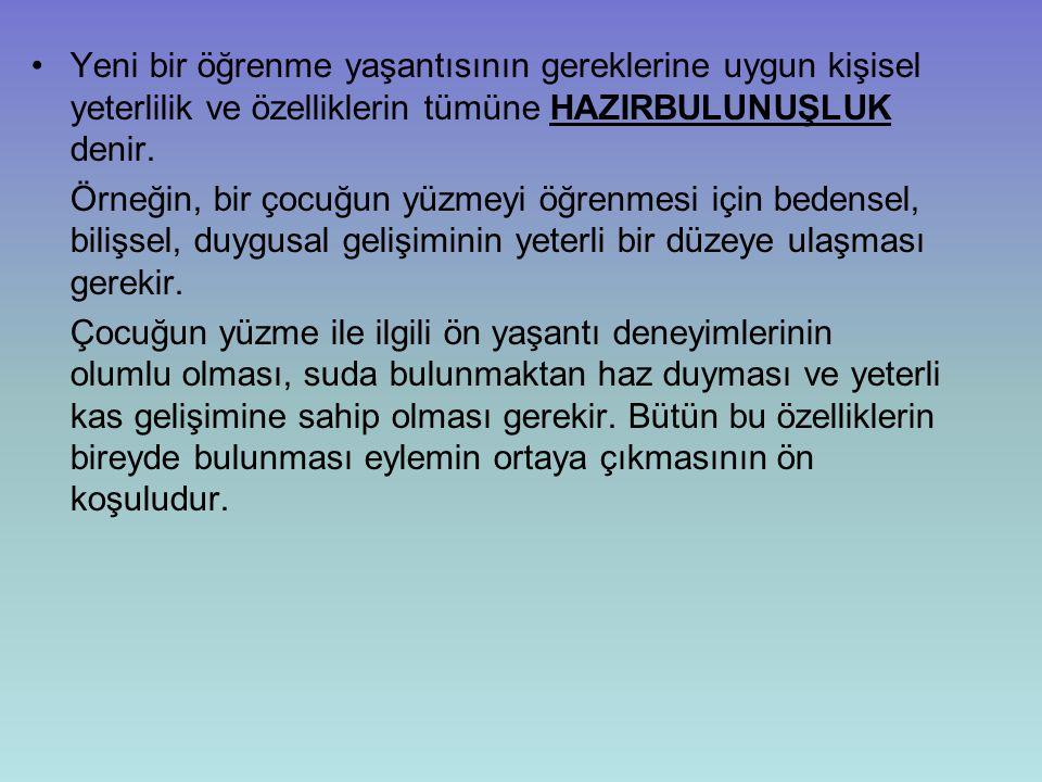 KAYNAKÇA Demirel,Özcan.(2005).Öğretimde Planlama ve Değerlendirme Öğretme Sanatı.Pegem Yay.